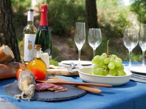 Valentines day picnic in Barcelona